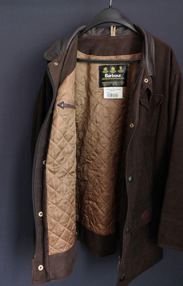 f4ba2cd88 A783 Barbour Moleskin Brown Jacket M  fashion  clothing  shoes  accessories   mensclothing  coatsjackets
