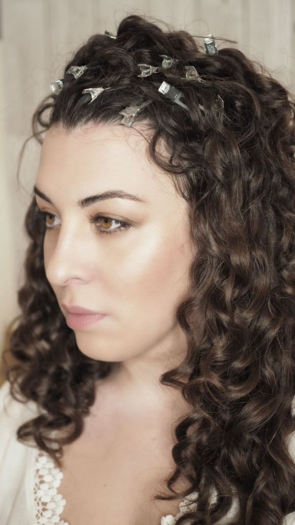 Curl Clipping Curly Technique