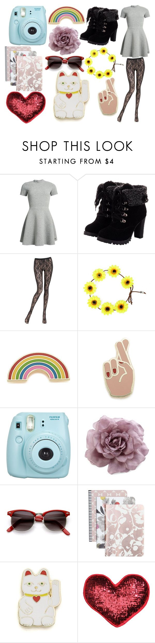 """""""Monday."""" by lxrry-bullshxt ❤ liked on Polyvore featuring Superdry, La Perla, Georgia Perry, Fujifilm, MOOD, ZeroUV, Caroline Gardner and H&M"""