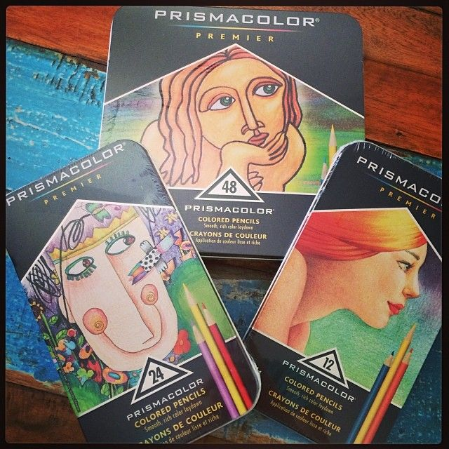 Boxed sets of #Prismacolor Pencils. #pencils #coloured #premier #Art #Supplies #Draw #luluart