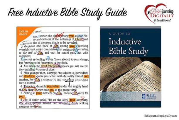 Free Inductive Bible study guide from Precept ministries Kay Arthur for Biase8ommkllks(doxoble journaling. - post explains the common things people misunderstand about Bible journaling.