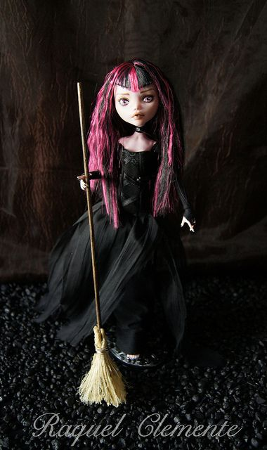 OOAK Monster High doll Draculaura Mattel repaint custom | Flickr - Photo…