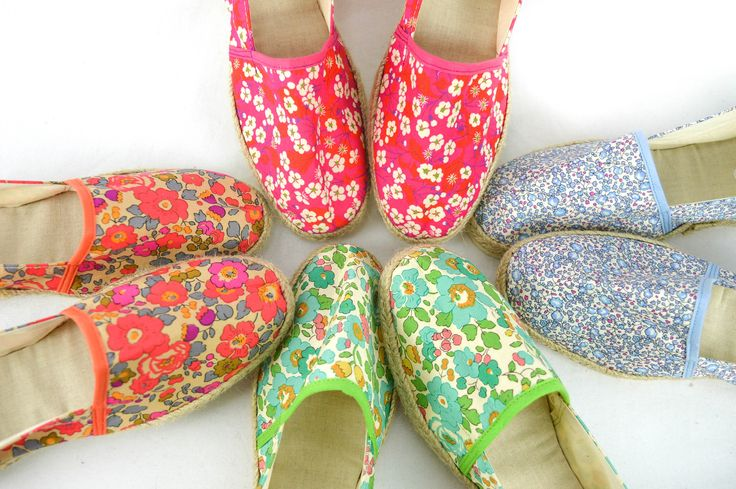 Espadrilles Liberty Femme (Taille 36 à 42) from Chut Charlotte !