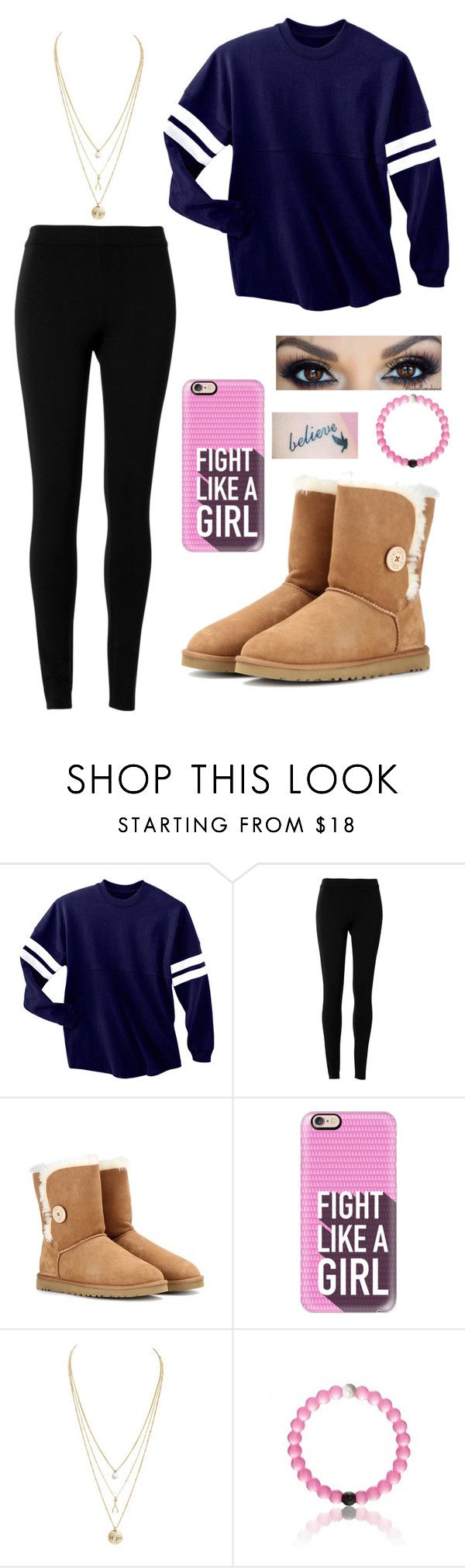 by lia-celeste ❤ liked on Polyvore featuring Max Studio, UGG Australia and Casetify