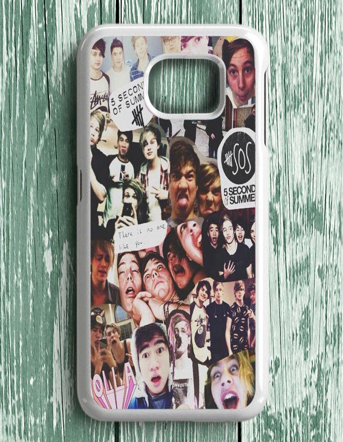 5 Second Of Summer Collage Art 5 SOS Music Samsung Galaxy S6 Edge Plus   Samsung S6 Edge Plus Case