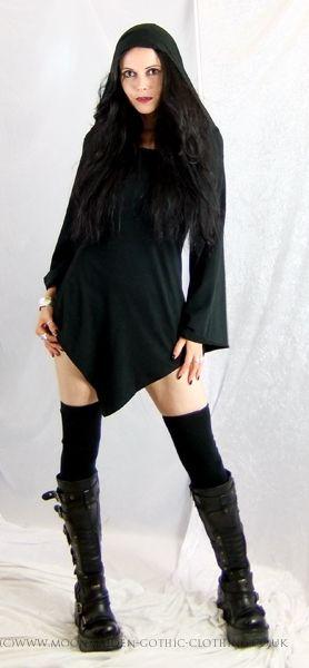 Lorelei Hoodie by Moonmaiden Gothic Clothing UK
