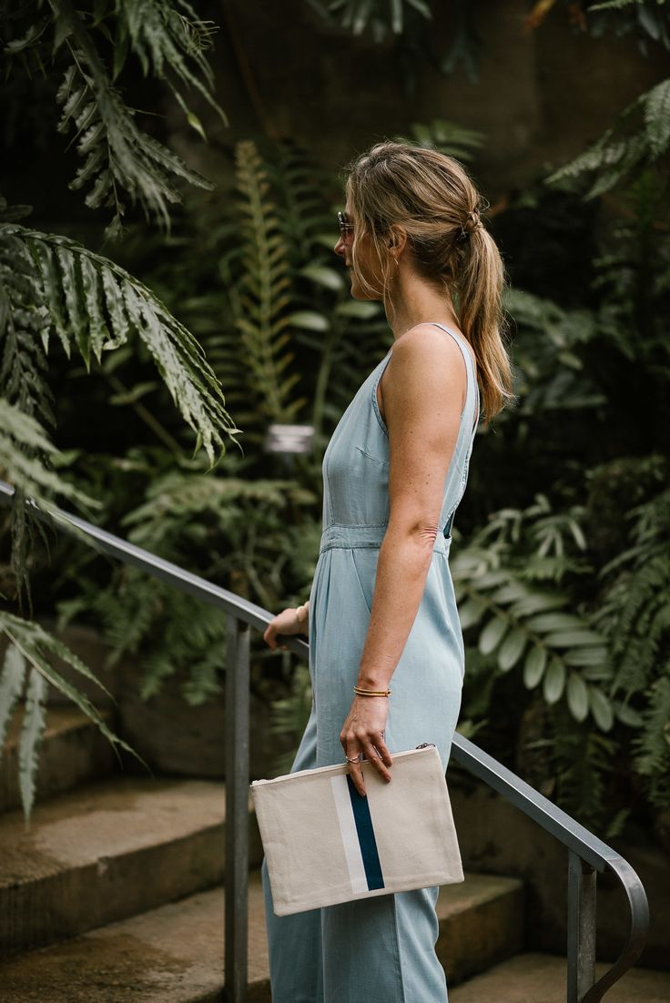 Chambray Jumpsuit//Summer Style