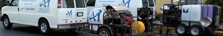 0Knoxville TN residential and commercial hot water pressure washing and power washing service.