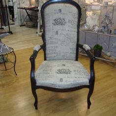19 best fauteuil voltaire images on pinterest armchairs furniture and chair swing - Meuble voltaire ...
