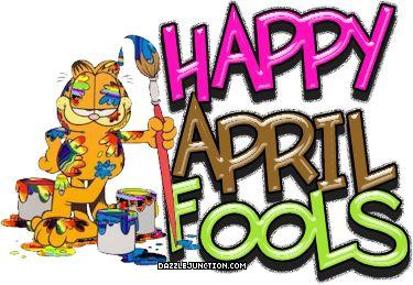 April Fools Day April Fools Garfield quote