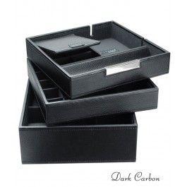 Stackers - Cutie ceasuri si alte accesorii, din piele