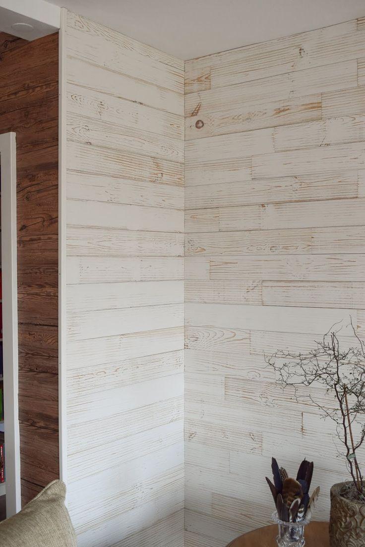 Holzverkleidung Fur Die Wand Mit Wandwood Paneele Einfach Kleben Anleitung Holzwand Verkleiden Und Selber Holzpaneele Holzverkleidung Wand Mit Holz Verkleiden