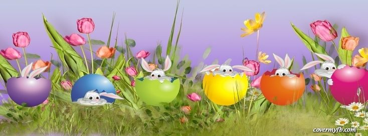 Happy Easter~ Facebook Cover