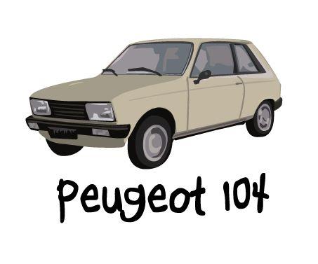 46 best peugeot 104 voor freddy de jong images on pinterest