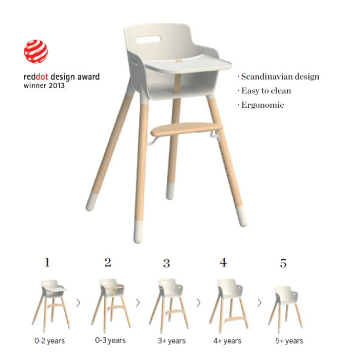 red dot design award flex children chair 2013