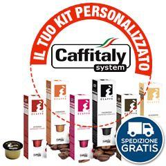 100 CAPSULE CAFFÉ CAFFITALY SYSTEM A SCELTA