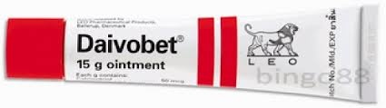 Daivobet ointment 50/500 is used to treat mild to moderate plaque psoriasis or psoriasis vulgaris of the body, in adults only. Psoriasis is a common non-allergic, chronic skin condition that causes the appearance of red raised patches of thickened skin covered in a dry silvery scaly rash usually on the skin of the elbows, knees and lower back.