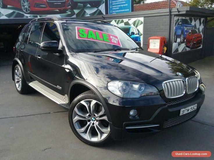2008 BMW X5 E70 3.0SD Black Automatic 6sp A Wagon #bmw #x5 #forsale #australia