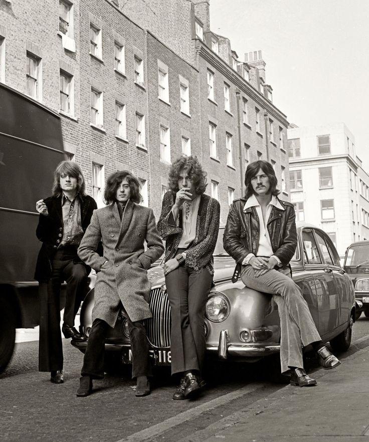 "rockislove: ""Led Zeppelin, 1968 """
