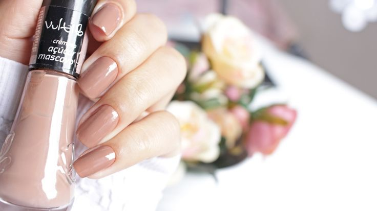 Esmaltes Vult. Cor: Açucar mascavo. #nails