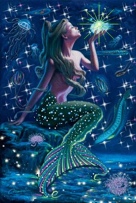 Fantasy Mermaids CLICK ON THE PICTURE (gif) AN WATCH IT COME TO LIFE…