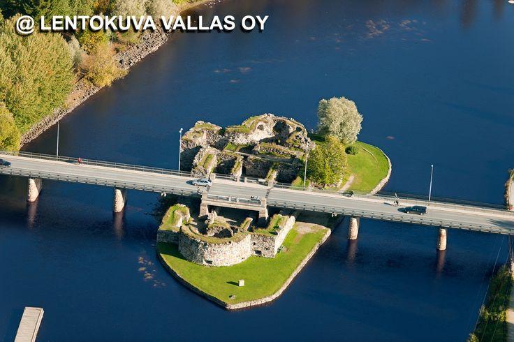 Kajaani, Kajaanin linna Ilmakuva: Lentokuva Vallas Oy
