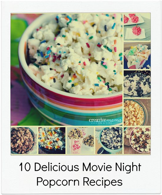 10 Delicious Movie Night Popcorn Recipes