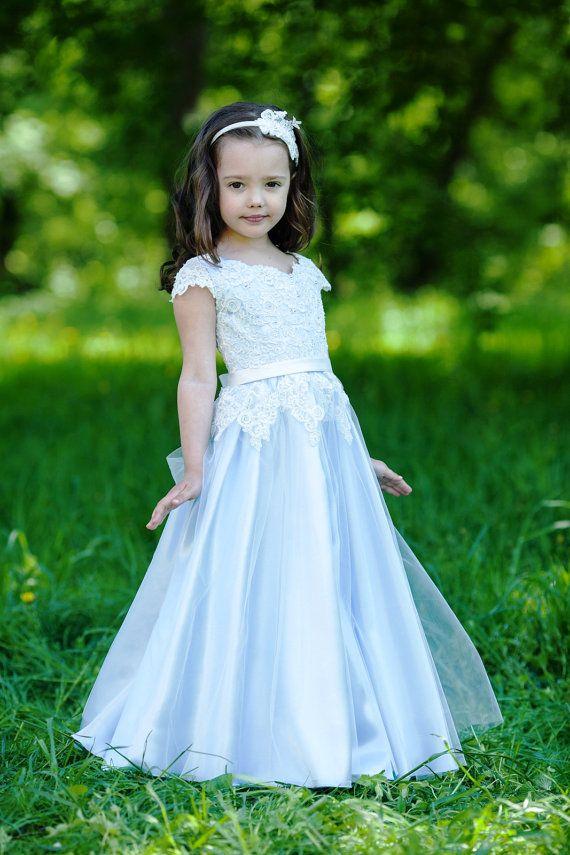 1000 ideas about blue flower girl dresses on pinterest
