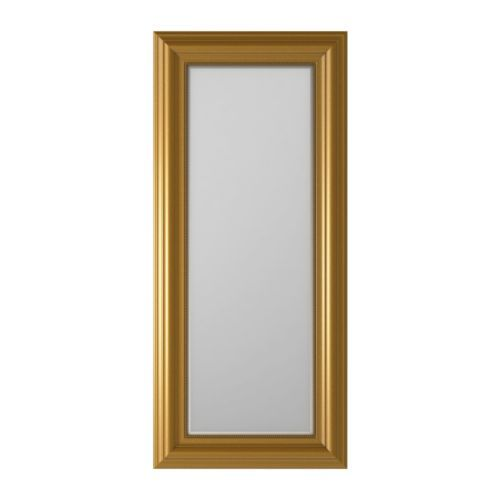 LEVANGER Mirror IKEA Full-length mirror. Can be hung horizontally or vertically. Provided with safety film - reduces damage if glass is brok...