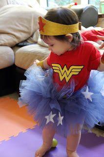 Superhero in a tutu