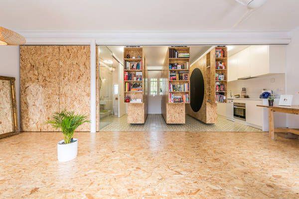 Stunning Interio Design space saving Jolandas Haus: Raummöbel »All I Own House« Architekten: PKMN Architectures Ort: Madrid, Spanien