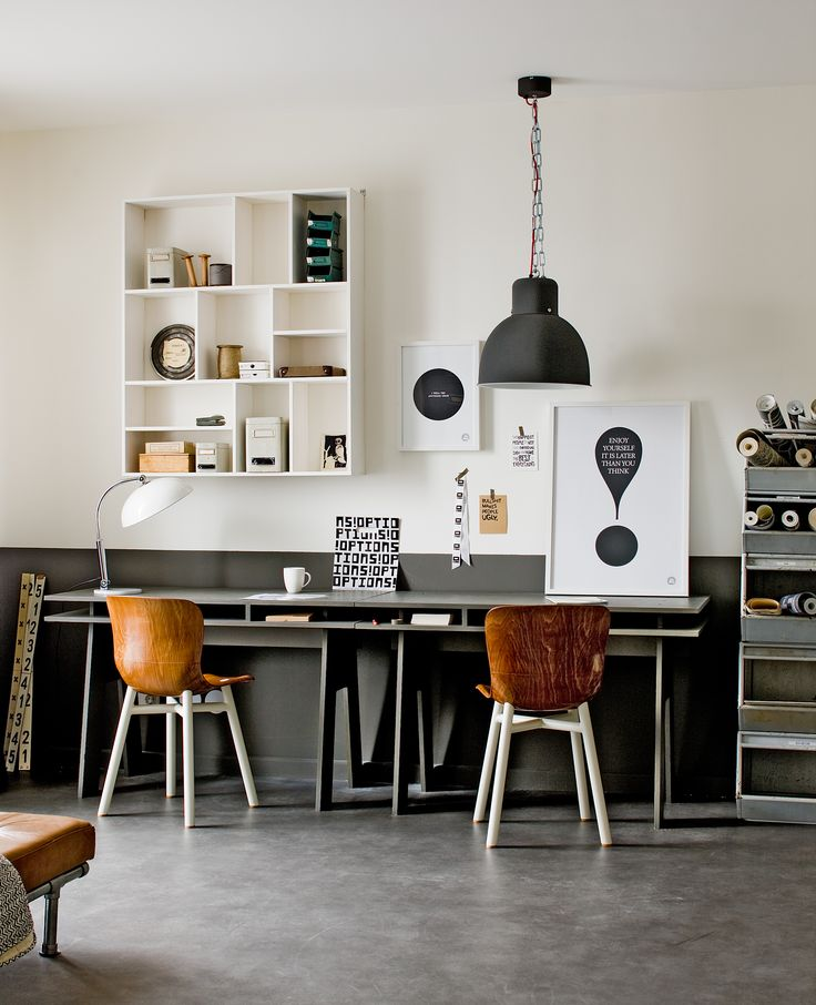 17 beste idee n over kantoor aan huis bureau op pinterest studeerkamer decor bureau ontwerp - Ontwerp huis kantoor ...