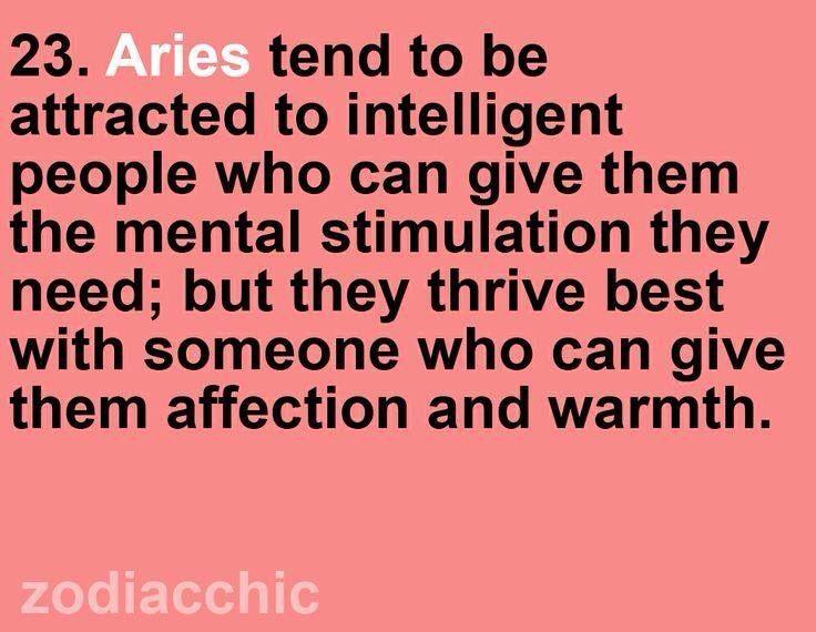 Aries Zodiac Facts So True!