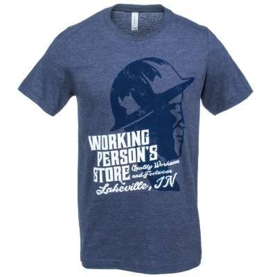 When you're a working person, you keep your head down and your nose clean. (We hope so, at least.) You focus on your work, and you like to take a step back and enjoy completed projects. Here's a little nod of approval for all you've done - check out this Working Person's Store Lakeville Indiana T-Shirt.  #WorkingPersonsStore #BrandsThatWork #Lakeville #TShirt #MensWorkWear #Work  http://workingperson.com/lakeville-indiana-t-shirt.html?utm_medium=social&utm_source=WPSLakevilleShirt_3/3