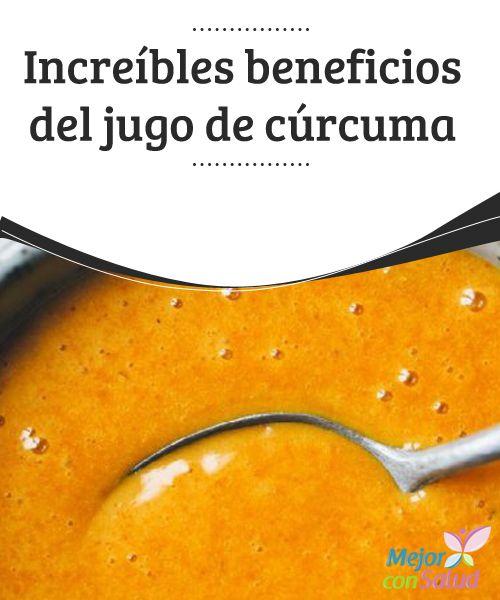 Increíbles beneficios del jugo de cúrcuma  La cúrcuma es un ingrediente fundamental en la cultura india y otras cocinas diferentes de otros países asiáticos.