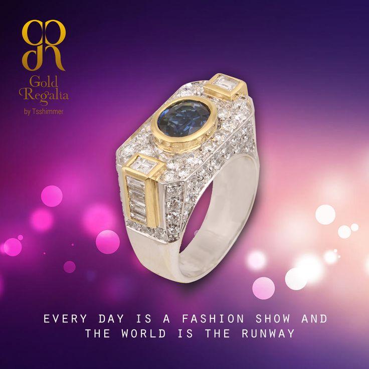 Every day is a #Fashion show and the world is the runway! : http://goo.gl/E03PRd #WomensJewelry #ClassyJewelry #DiamondJewelry #DiamondRing
