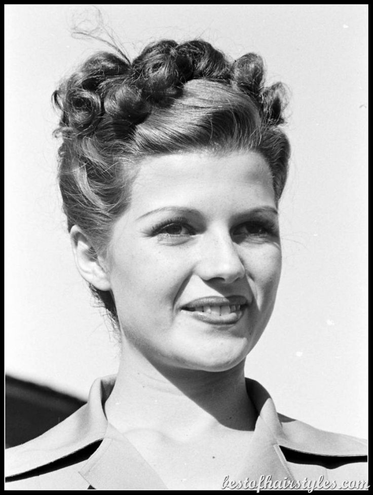 1940s hairstyles victory rolls - Google Search | 40s ...