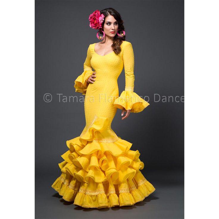 Modelo Amaia de la coleccion Tamara Flamenco Dance 2015 https://www.tamaraflamenco.com/es/amaia/trajes-de-flamenca-2015-mujer-541#.VdbvS_ntlBc