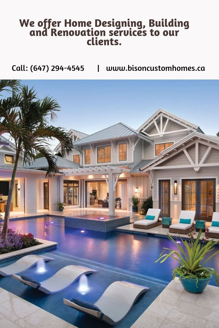 Luxurious Homes Bison Custom Homes Custom Homes Design Your Dream House Luxury Swimming Pools