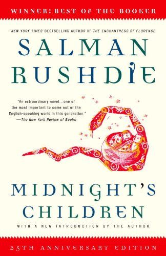 Midnight's Children by Salman Rushdie.  This is a great book.  It should be studied, not merely read; and it helps if you have some basic knowledge about the history of India, or at least the British presence there.  It is not a proud history.