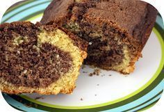 Recept marmer cake / marble cake recipe