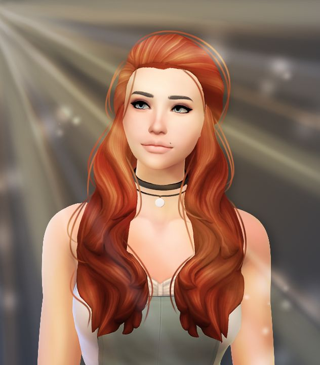 """simsulfurtrash: """" - Vanessa - I edited @john-sims's Vanessa :) This became a bit more basic than I expected, but I still think it looks okay :P I kinda ruined her eyes… Oh well! I didn't even use my dreamy render lighting effect, I decided to play..."""