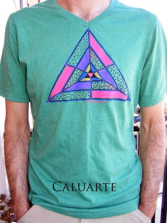 Camiseta pintada a mano 13, Ropa, Camisetas