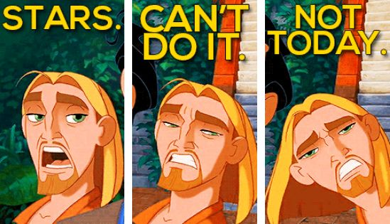 The Road to El Dorado My excuse for everything