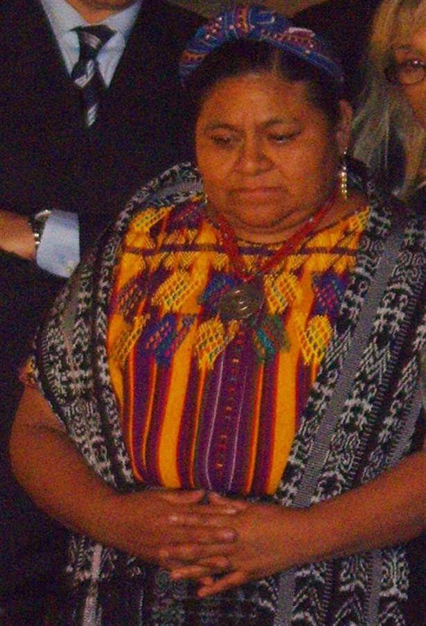 18. Rigoberta Menchu