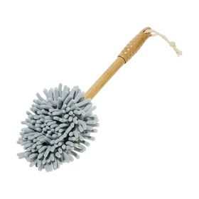 Chenille Duster with Bamboo Handle