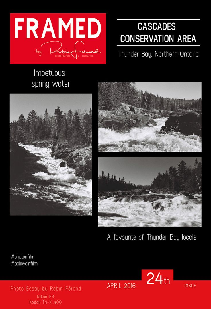 The waterfalls of Cascades Conservation Area are a favourite of Thunder Bay locals. Not often featured in traveling guide, it is definitely a spot I recommend. Ellanna's favourite location in Thunder Bay, I discovered it the first time back in May 2014. She brought us there when my dad was visiting