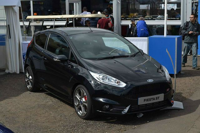 2014 Ford Fiesta ST Black