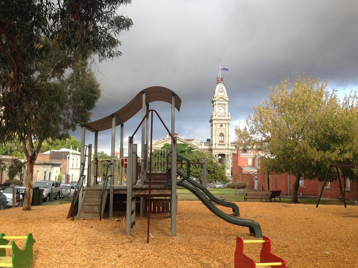 Kids #playground in #Fitzroy