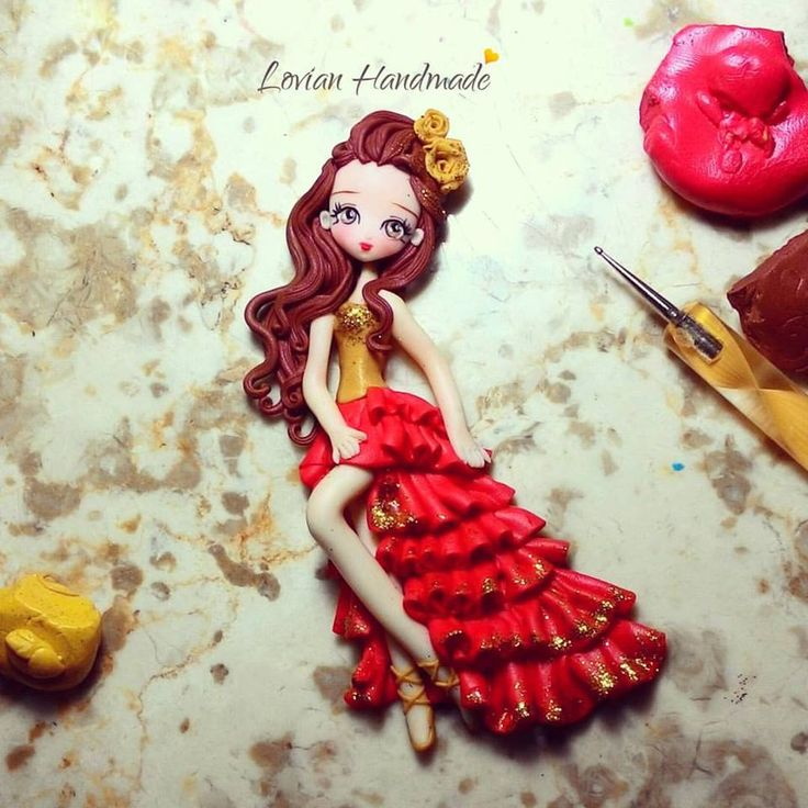 Polymer clay, masa flexible,cold porcelain, cernit, biscuit